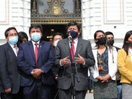 Bancada de Perú Libre no asistirá a diálogo con Mirtha Vásquez