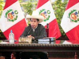 """Presidente Castillo: """"El Perú tiene plena apertura para atraer inversiones"""""""