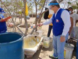 Sunass y la Defensoría del Pueblo constatan desabastecimiento de agua en caserío Río Seco