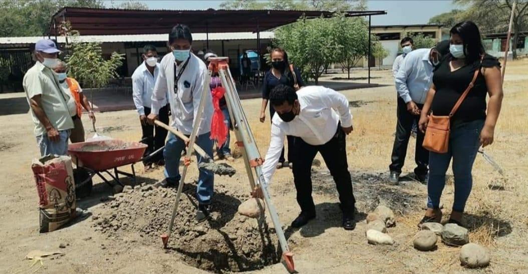 Iniciarán construcción de cerco perimétrico en I. E. N° 1419 de Tambogrande