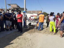 VDO: vecinos de la Urb. Santa Margarita denuncian recibir agua de mala calidad