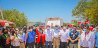 Tambogrande: ponen en funcionamiento planta potabilizadora de agua en Malingas
