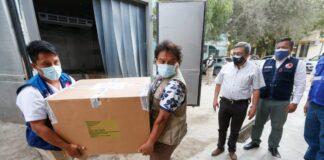 Más de 158 mil vacunas contra la COVID-19 llegaron a la región Piura