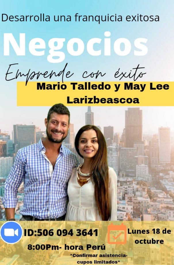 May Lee y Mario Talledo